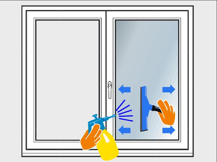 Überprüfe Deine Arbeit und vergewissere Dich, dass keine Luft- oder Wasserblasen unter der Folie verblieben sind.