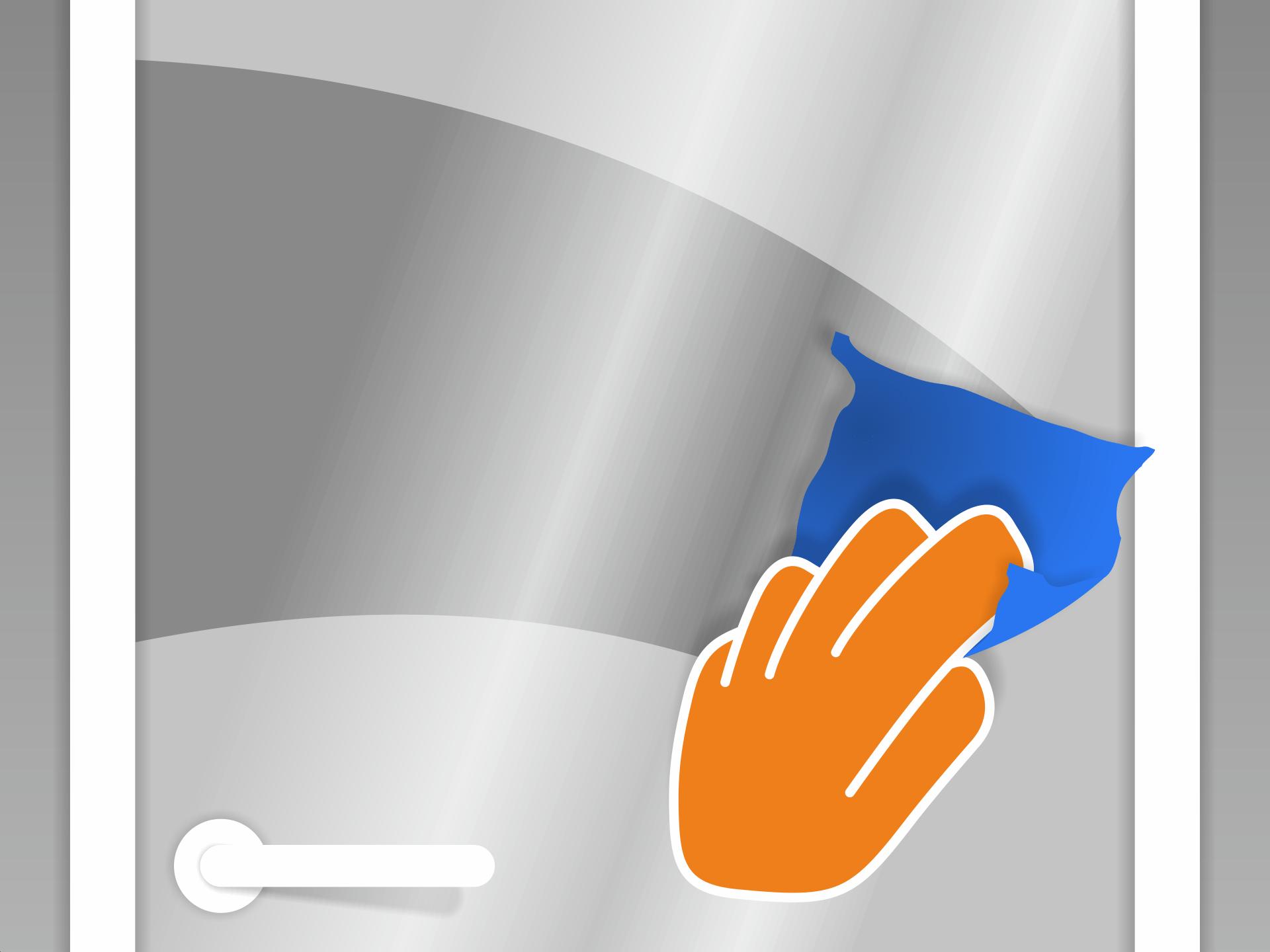 Die Scheibe gründlich mit Glasreiniger reinigen. Sie muss staub- und fettfrei sein auch im Randbereich. Klebe- oder Farbreste z.B. mit unserem Profi-Glasschaber oder einer Rasierklinge entfernen.