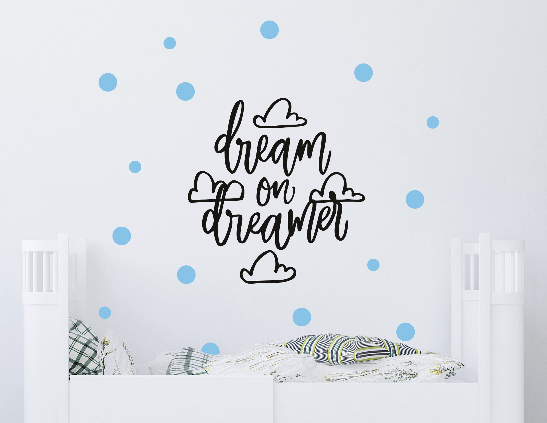 """Wandtattoo """"Dream on Dreamer"""" für große und kleine Träumer"""