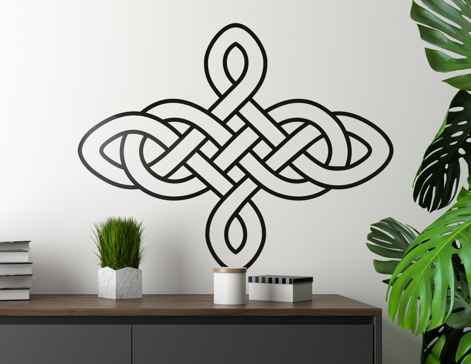 wandtattoo keltischer knoten 03. Black Bedroom Furniture Sets. Home Design Ideas
