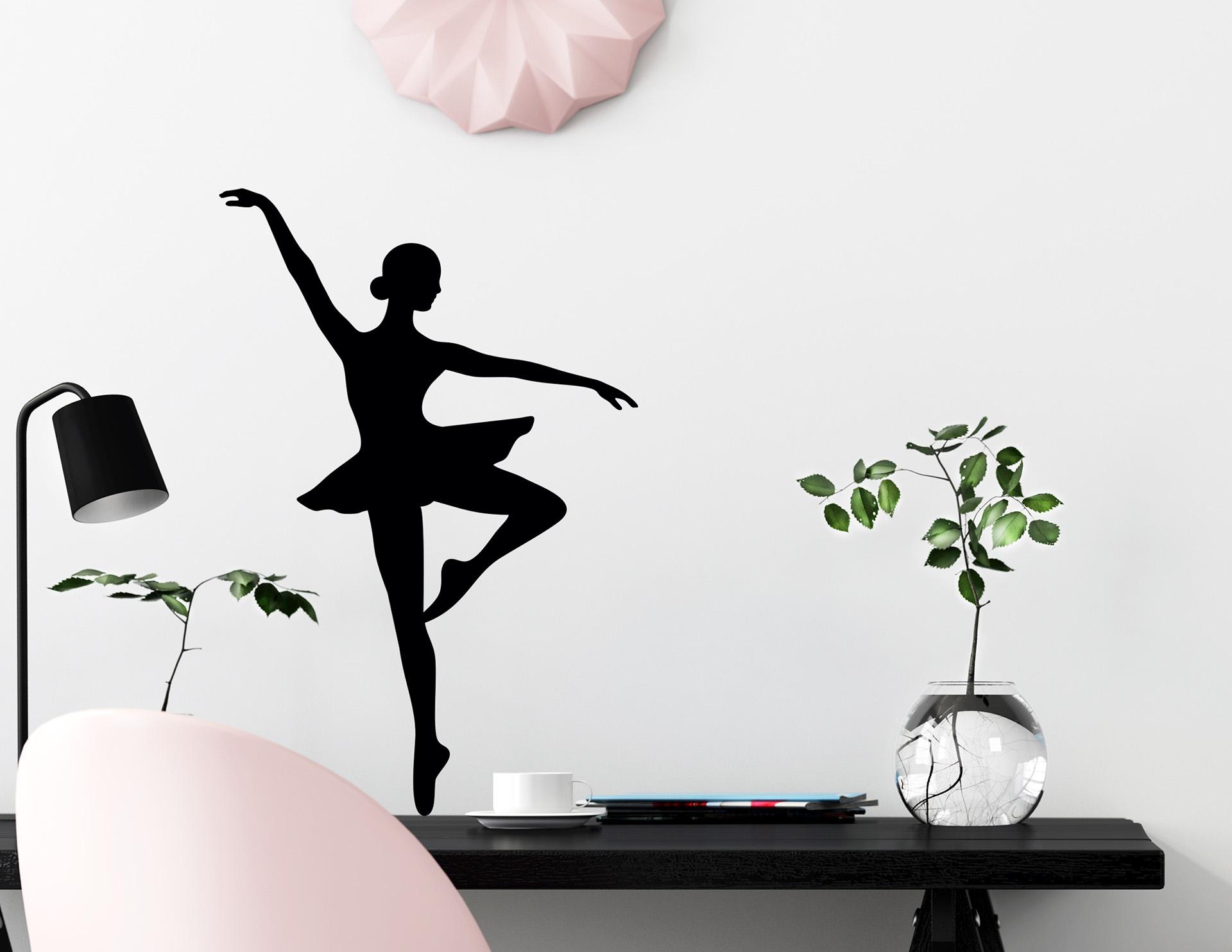 Wandtattoo Ballerina 3