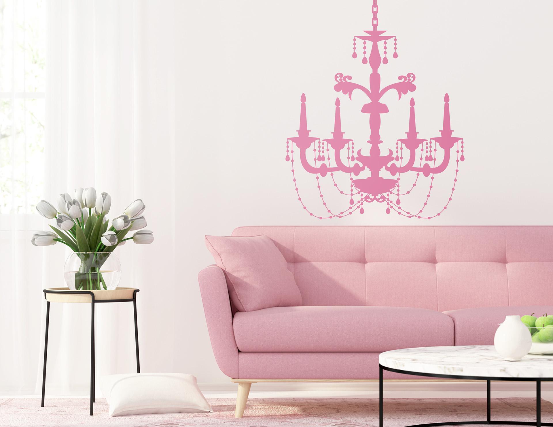 wandtattoo kronleuchter klara umrahmt den thronsaal. Black Bedroom Furniture Sets. Home Design Ideas
