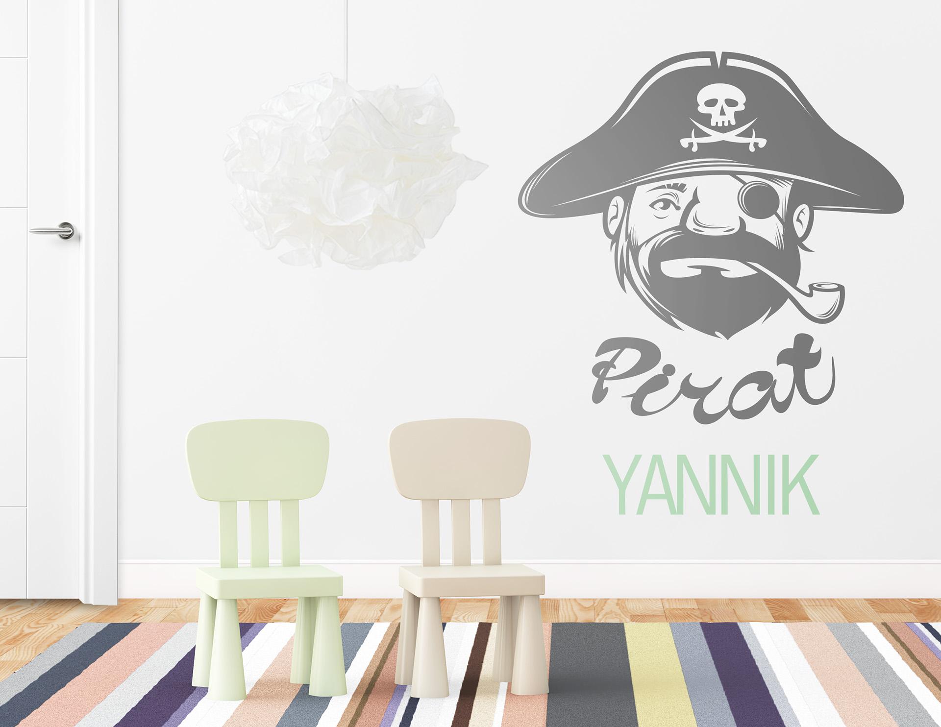 Wunderbar Piraten Wandtattoo Galerie Von