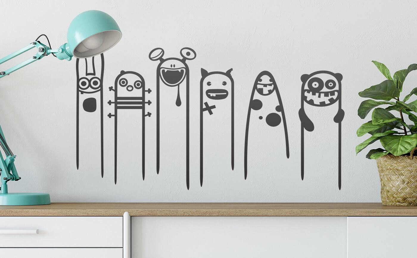 Funny & Crazy   total verrückte Wandtattoos für Dein Zuhause
