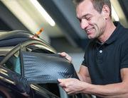 Carbon Autofolie für Spiegel