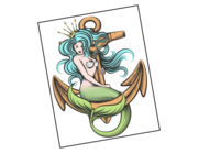 Lieferansicht Autoaufkleber Meerjungfrau Pearlia XS