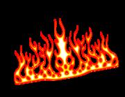 Lieferansicht Autoaufkleber Blazing Fire XS