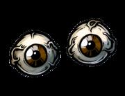 Lieferansicht Autoaufkleber Zombie Eyeballs XS
