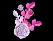 Lieferansicht Autoaufkleber Pfingstrose Blütenstern XS