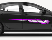 Autoaufkleber Purple Panther Decal XS