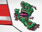 Autoaufkleber Zombie Hand Scream XS