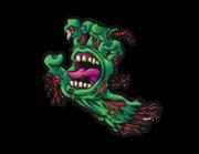 Lieferansicht Autoaufkleber Zombie Hand Scream XS