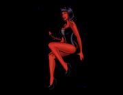 Lieferansicht Autoaufkleber Pin-up Girl Betty Devil XS