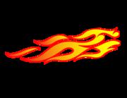 Lieferansicht Autoaufkleber Feuer & Flamme XS