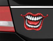 Autoaufkleber Joker's Smile XS