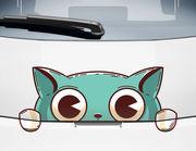 Autoaufkleber Katze Poupette XS