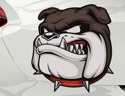 Autoaufkleber Bulldogge Cooper XS