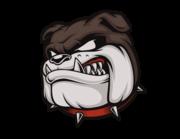 Lieferansicht Autoaufkleber Bulldogge Cooper XS
