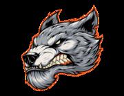 Lieferansicht Autoaufkleber Immortal Werewolf Head XS