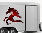 Autoaufkleber Pferd Amaretto XS
