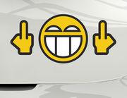 Autoaufkleber FO Smiley XS