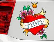 Autoaufkleber Mom Heart XS