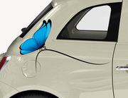 Autoaufkleber Papillon Bleu XS