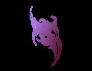 Lieferansicht Autoaufkleber Tribal Lilac XS