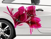 Autoaufkleber Blume Eden XS
