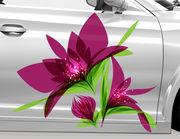 Autoaufkleber Blume Cassia XS