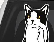 Autoaufkleber FU Cat XS