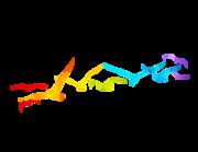 Lieferansicht Bootsaufkleber Regenbogen Möwen XS