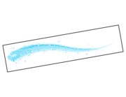 Lieferansicht Bootsaufkleber Welle Waterdrops XS