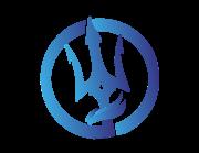 Lieferansicht Bootsaufkleber Dreizack Emblem XS