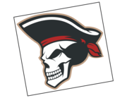 Lieferansicht Bootsaufkleber Pirat Captain Blackbone XS
