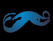 Lieferansicht Bootsaufkleber Tribal Wave Paora XS