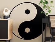Wandtattoo Yin und Yang