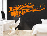 Wandtattoo Graffiti Arrows
