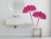 "Wandtattoo ""Wasserlilien Hanako"": Japanische Blütenpracht"