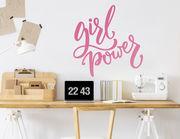 """Wandtattoo """"Girl Power Lettering"""" für echte GRL-PWR"""