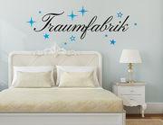 """Wandtattoo """"Traumfabrik Scarlett"""" für Schlaf- & Kinderzimmer"""