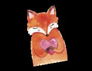 Wandtattoo Vito der Fuchs Lieferansicht
