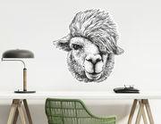 Wandtattoo Wallace das Lama