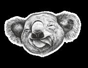 Wandtattoo George der Koala Lieferansicht