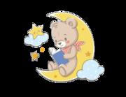 Wandtattoo Gute Nacht-Teddy Timmy Lieferansicht