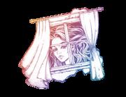 Wandtattoo Alice's Blick ins Fenster Lieferansicht