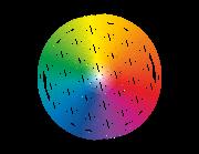 Wandtattoo Blume des Lebens in Color Lieferansicht
