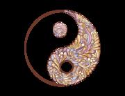 Wandtattoo Yin & Yang - Paisley Lieferansicht