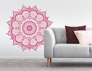 Wandtattoo Mandala - Pink Paisley