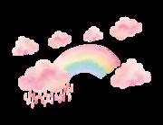 Cloudy Rainbow Lieferansicht